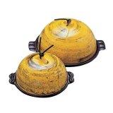 卓上鍋 高瀬陶板セット 加賀金箔(なると)蓋