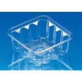 透明プラ容器 角クリーンカップ フタ付