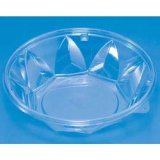 透明プラ容器 花型クリーンカップ