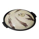 卓上鍋 丸陶板セット ふるさと蓋