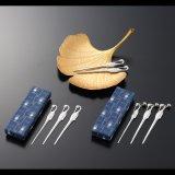 ステンレス菓子切 鶴