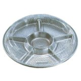 オードブル皿 透明フタ付 10枚
