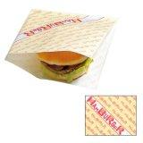 耐油袋 バーガー袋#18ハンバーガー柄