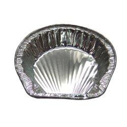 画像2: アルミ箔容器 13cmホタテ貝型