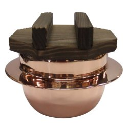 画像4: [代引不可] 銅釜(フッ素加工)ハカマセット