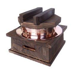 画像1: [代引不可] 銅釜(フッ素加工)ハカマセット