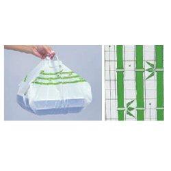 画像1: オードブル皿・寿司桶用 手提げ袋 SKバッグ 竹