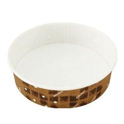画像1: [オーブン対応 紙容器] 耐熱性コップ150径 ブラウン