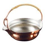 鎚起 銅製片口手付鍋