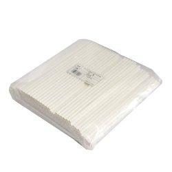 画像4: 紙製 ペーパーストロー ストレート 白裸