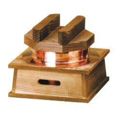 画像5: [代引不可] 銅釜(フッ素加工)ハカマセット