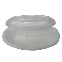 画像2: 発泡容器 カレー皿 G-320