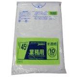 半透明ゴミポリ袋45L TM-44