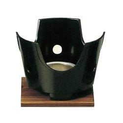 画像1: [代引不可] 丸コンロ コンロセット(黒)